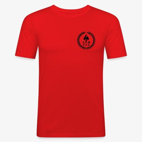 ATM Transparent SW png - Männer Slim Fit T-Shirt