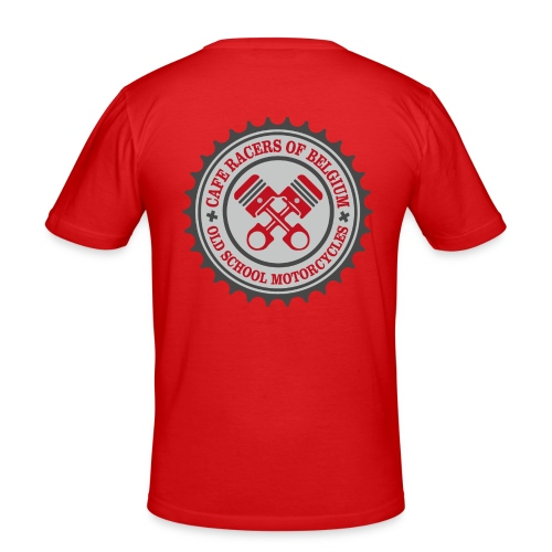 Caferacers of Belgium - slim fit T-shirt