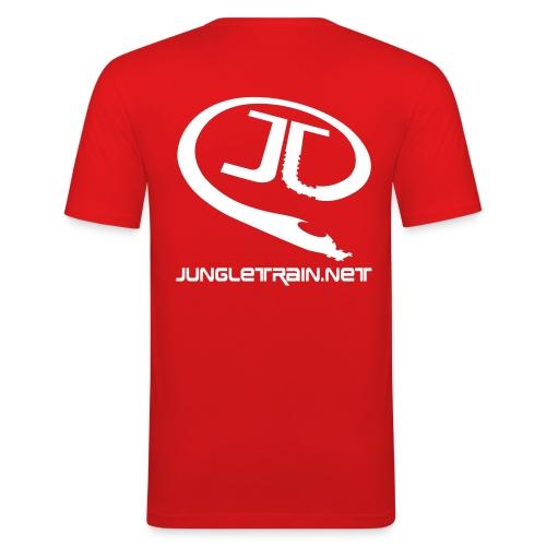 jtlogo text ai10 - Men's Slim Fit T-Shirt