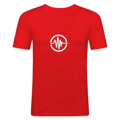 logo casquette1 - T-shirt près du corps Homme