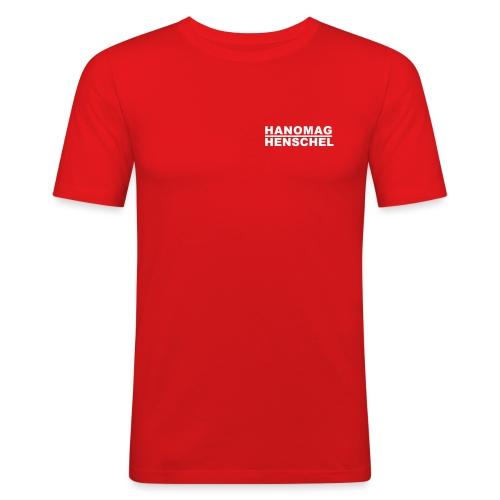 Hanomag Logo - Mannen slim fit T-shirt