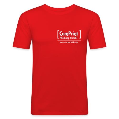 logo_klein - Männer Slim Fit T-Shirt