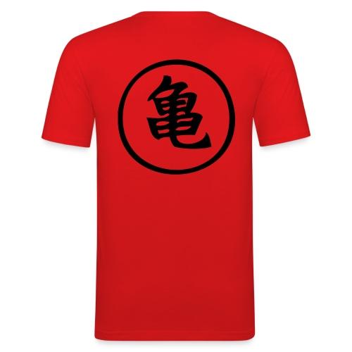 mtortuga - Camiseta ajustada hombre