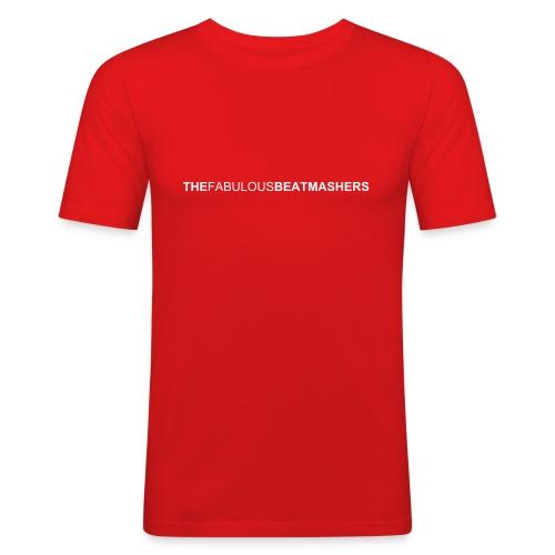 fbm shirt 1 vorderseite - Männer Slim Fit T-Shirt