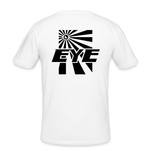 eye02 - Mannen slim fit T-shirt