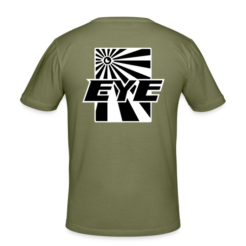 eye02 - Mannen slim fit T-shirt