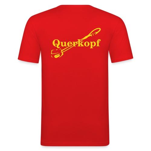 Querkopf - Männer Slim Fit T-Shirt