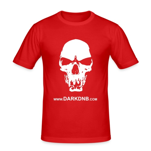 skull - Mannen slim fit T-shirt