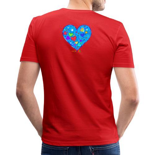 HerzensOpa - Männer Slim Fit T-Shirt