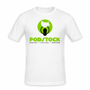 podstock full green - Männer Slim Fit T-Shirt