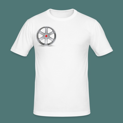 Fälg Silver - Slim Fit T-shirt herr