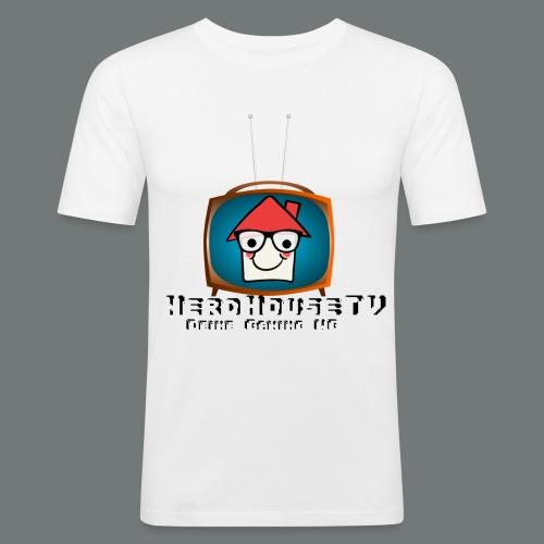 Nerdhouse - Männer Slim Fit T-Shirt