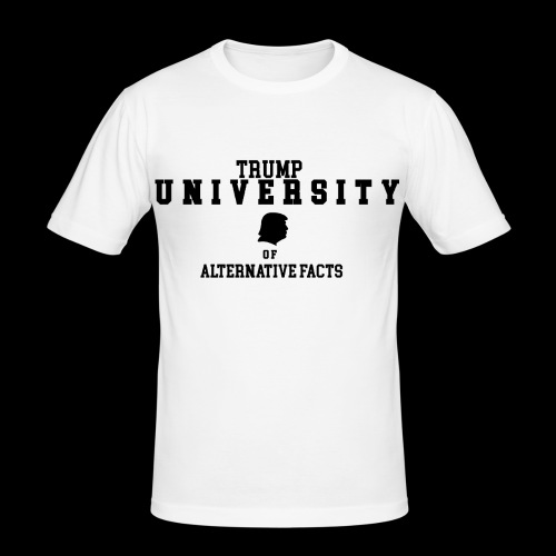 trump university - Männer Slim Fit T-Shirt