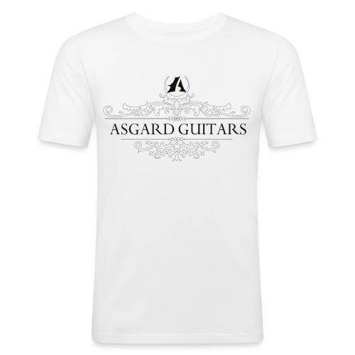 AGpaitakoukero dark brown - Miesten tyköistuva t-paita
