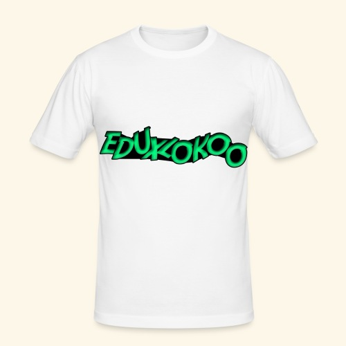 eduxlokoo ñe - Camiseta ajustada hombre