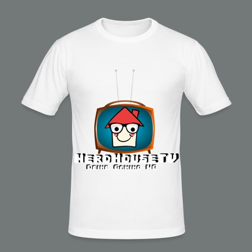 Nerdhouse - Männer Slim Fit T-Shirt