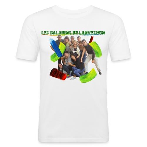LLT18 - T-shirt près du corps Homme