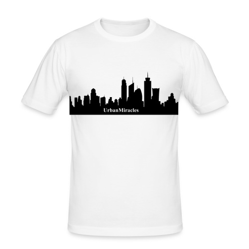um skyline - Men's Slim Fit T-Shirt