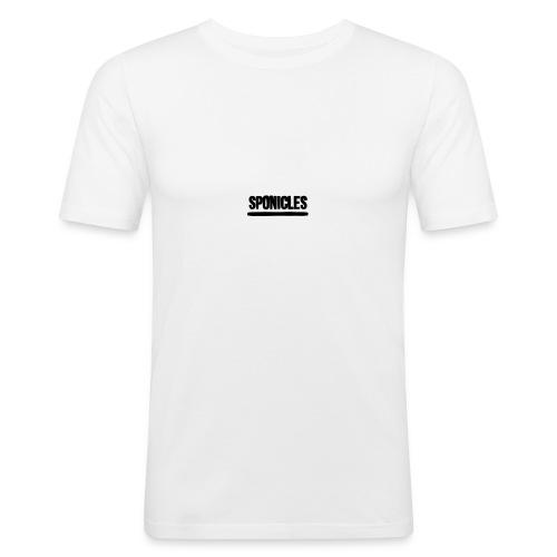 Sponicles Signature Design! - Men's Slim Fit T-Shirt