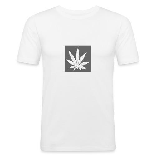 Cannabis - T-shirt près du corps Homme