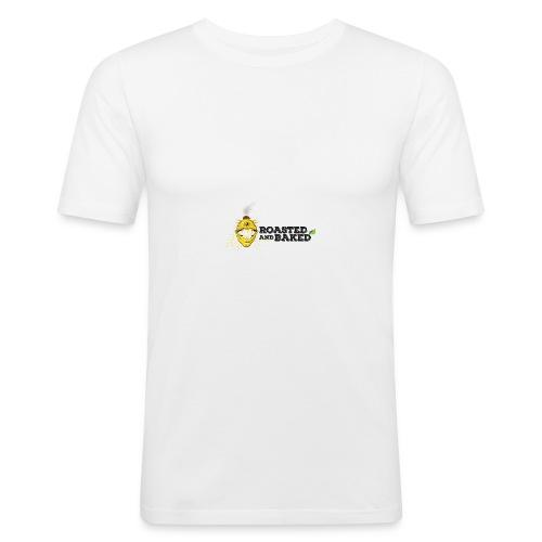ROASTED AND BAKED LEMON - Männer Slim Fit T-Shirt