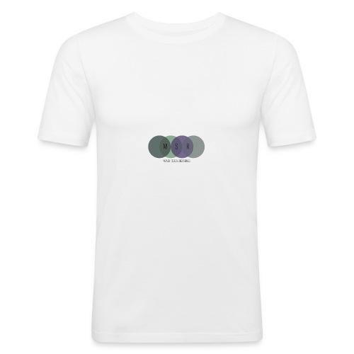 Midnight Social #13 - Men's Slim Fit T-Shirt