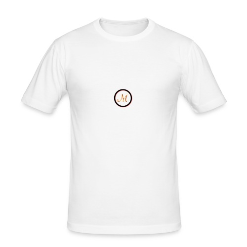 Logo_M - Maglietta aderente da uomo
