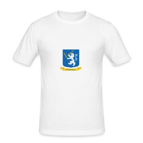TheRealAlle4433 Logo - Men's Slim Fit T-Shirt