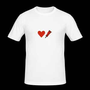 Heart Breaker - Men's Slim Fit T-Shirt