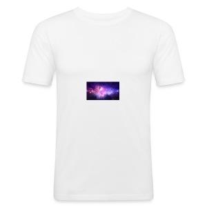galaxy - Slim Fit T-skjorte for menn