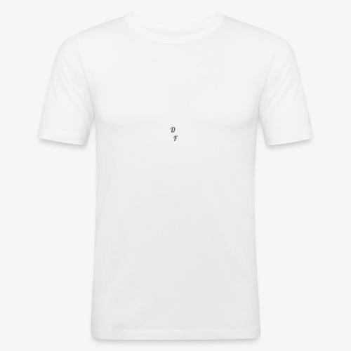DF logo - Männer Slim Fit T-Shirt