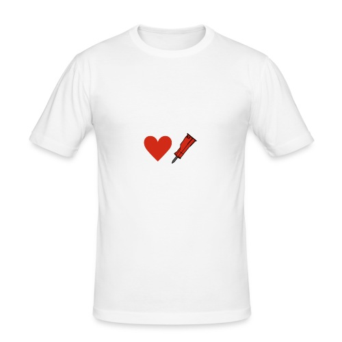 Heart Breaker - Men's Slim Fit T-Shirt