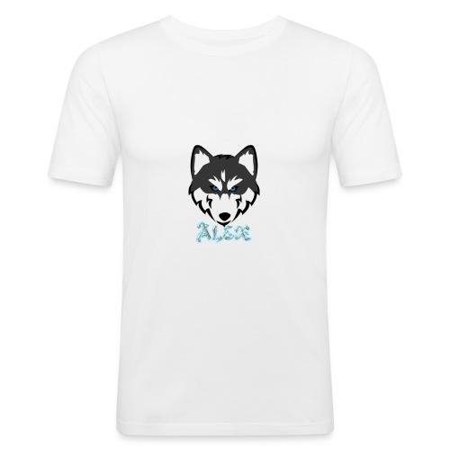 Alex Husky T-Shirt - Men's Slim Fit T-Shirt