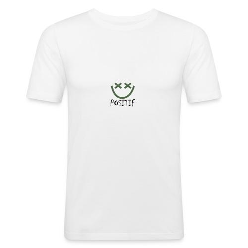 Positif Brand Basic - Camiseta ajustada hombre
