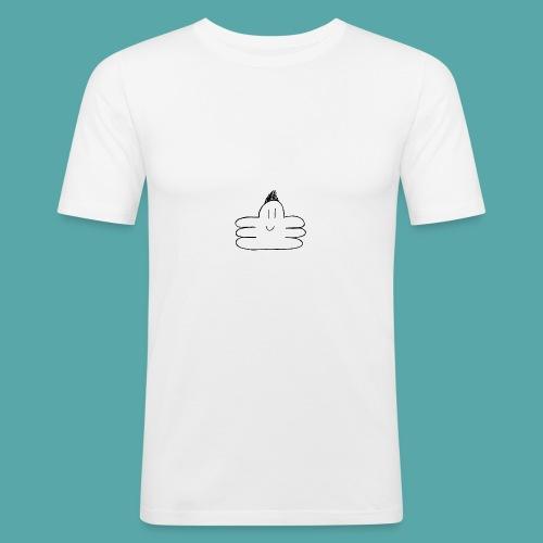 octupus edited black - Men's Slim Fit T-Shirt