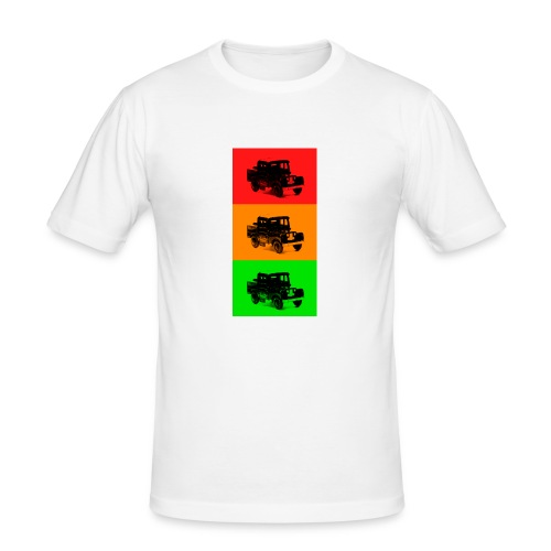 Retro Land-Rover - Men's Slim Fit T-Shirt