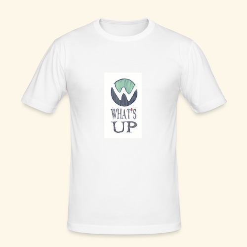 Logo Whats up - T-shirt près du corps Homme