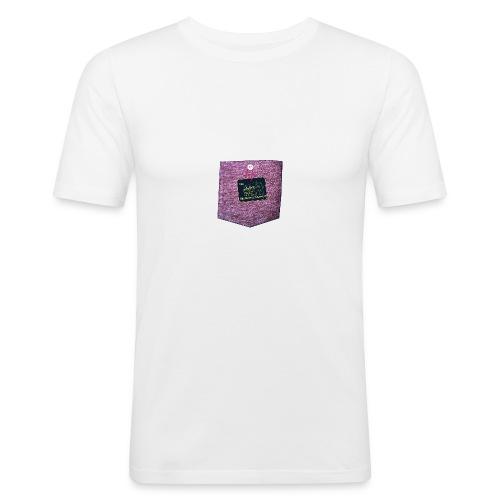 abzeichen Hell - Männer Slim Fit T-Shirt