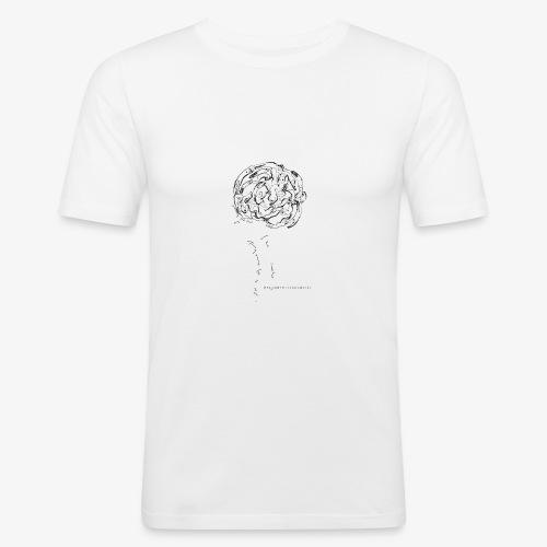 grafica t shirt nuova - Maglietta aderente da uomo