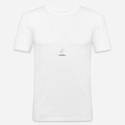 Harbul Simple Design - Men's Slim Fit T-Shirt