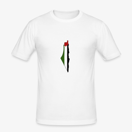 Palestine - T-shirt près du corps Homme
