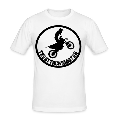 TheAttackMaster Official Black - Herre Slim Fit T-Shirt