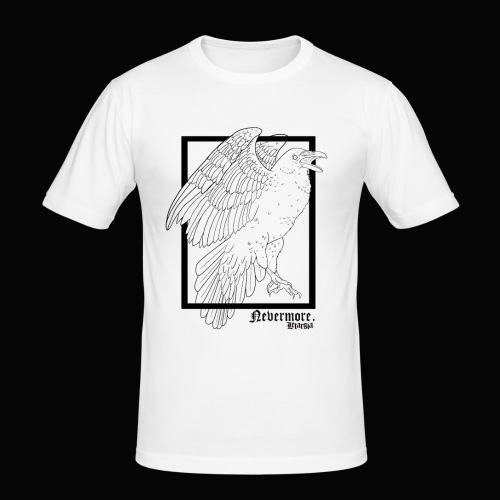 Nevermore in Black - Camiseta ajustada hombre