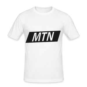 MTN BoxLogo T-shirt herre - Men's Slim Fit T-Shirt
