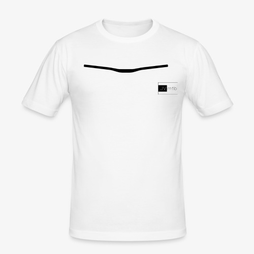 JVmtb - Bar - Männer Slim Fit T-Shirt