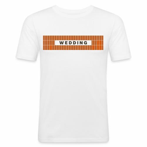 Wedding - Männer Slim Fit T-Shirt