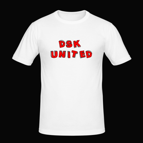 Dsk United - Männer Slim Fit T-Shirt
