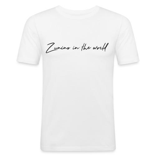 Zunino in the world: COLLEZIONE INVERNALE - Maglietta aderente da uomo