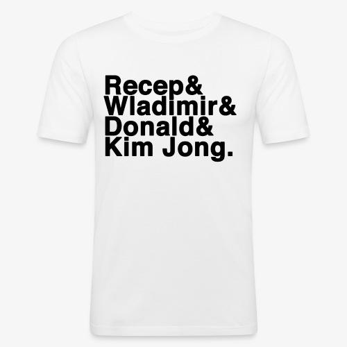 4 - Männer Slim Fit T-Shirt