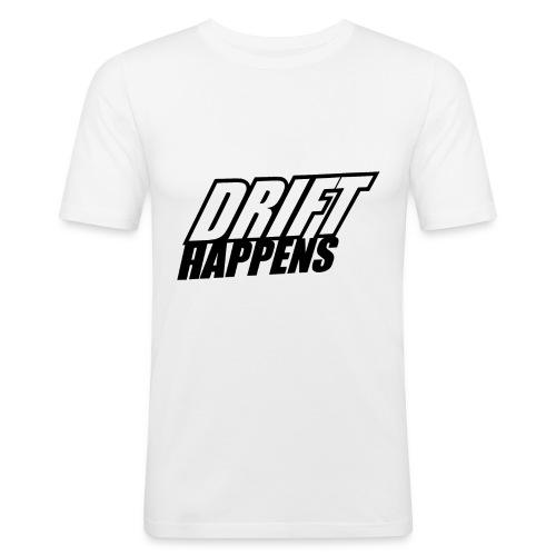 Drift Happens - Männer Slim Fit T-Shirt